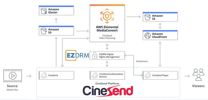 Cinesend Workflow Image