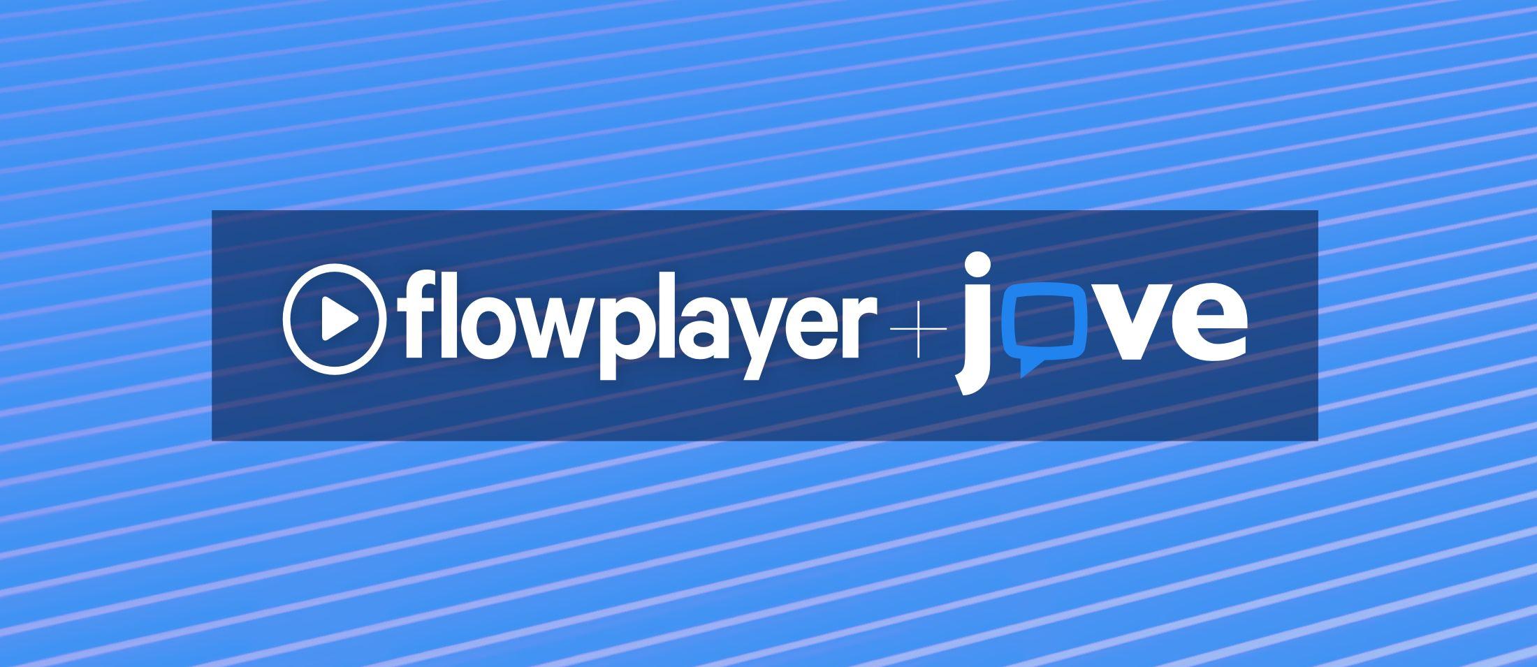 Jove + Flowplayer + EZDRM