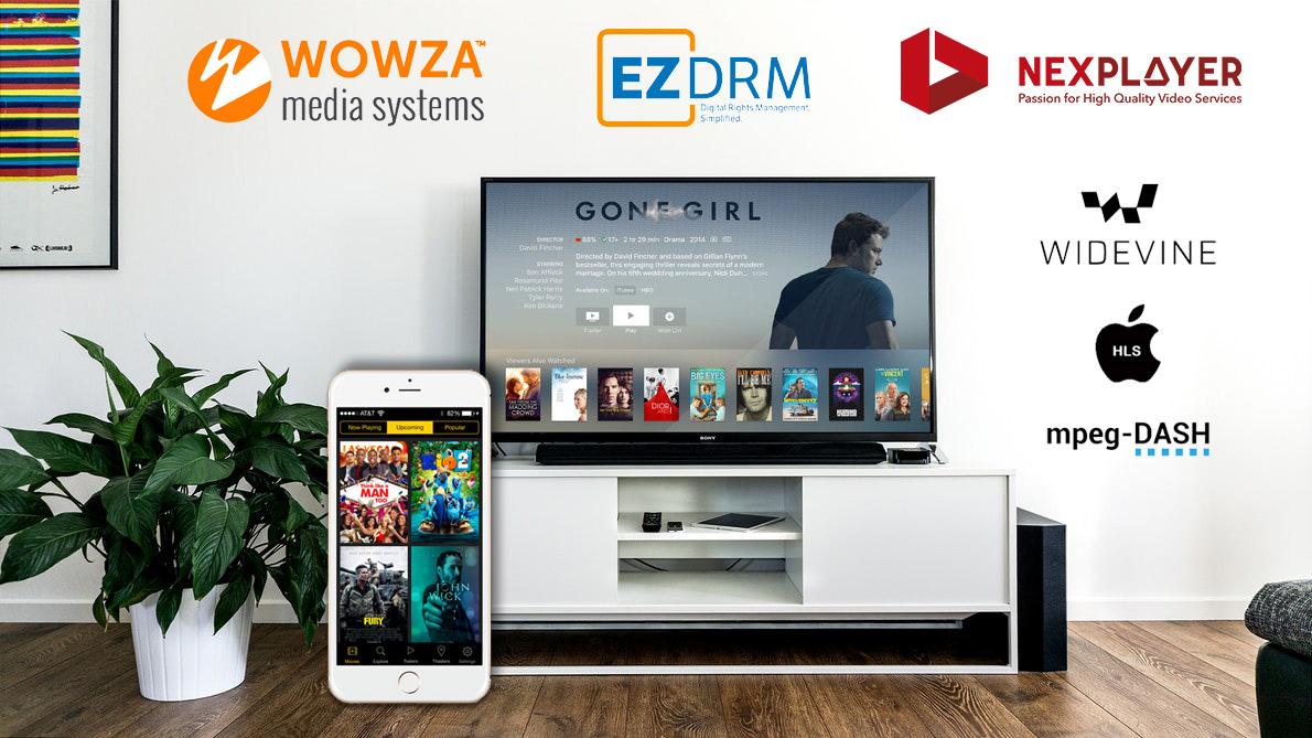 Wowza NexPlayer EZDRM
